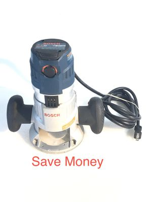 """Bosch Corded Heavy Duty Fixed Base Variable Speed Router - """"Read Inside"""" for Sale in San Antonio, TX"""