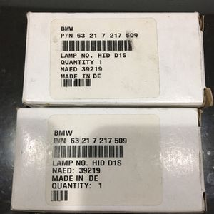 BMW HID D1S Lamp Headlight # 63 21 7 217 509 for Sale in Brea, CA