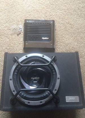 "Sony Xplōd Amplifier and 12"" Subwoofer for Sale in San Diego, CA"