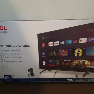 """TCL ANDROID TV 55"""" INCH ( BRAND NEW) for Sale in Tacoma, WA"""