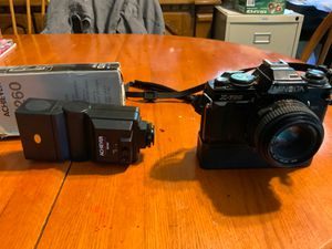 Minolta X700 with flash & fast winder for action shots for Sale in Greenville, SC