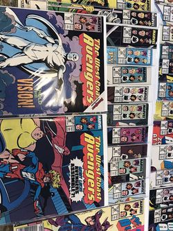 West Coast Avengers Comic Books 1-46 Includes 45 1st White Vision From Wandavision for Sale in Rolling Hills,  CA