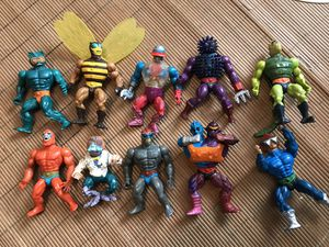 Vintage 1980's He Man Action Figure MOTU Lot for Sale in Fall River, MA