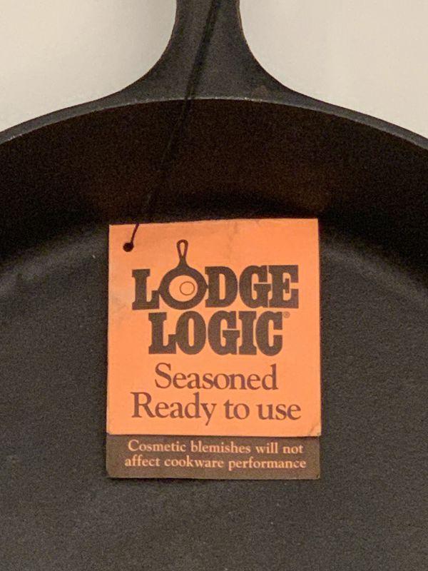 "Lodge Brand New 12"" Cast Iron Skillet"