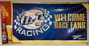 "36"" x 72"" Miller Lite Racing Banner for Sale in Lompoc, CA"