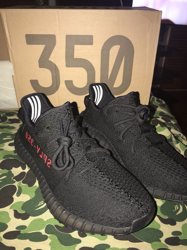 """1e3c49379 Adidas Yeezy boost 350 v2 """"breds"""" size 13 for Sale in Houston"""