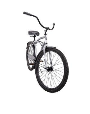 "Huffy 26"" Cranbrook Men's Beach Cruiser Comfort Bike, Silver for Sale in Phoenix, AZ"