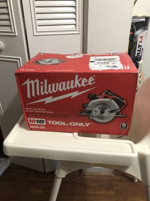 Milwaukee circular saw for Sale in Sterling, VA