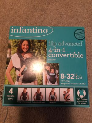 Infantino Baby Carrier for Sale in Decatur, GA