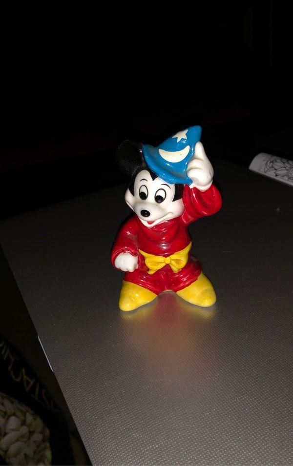 Mickey Mouse Wizard Figurine. DISNEY
