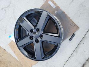 Dodge 18in Wheel 5 Spoke Fresh Black Coat for Sale in Los Angeles, CA