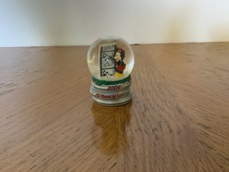 """Mickey Mouse 2.25"""" Mini Waterglobe 75 Years of Fun! from Disney 2004 for Sale in Torrance,  CA"""