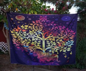 New elephant tapestry tree of life 76x59 for Sale in Whittier, CA