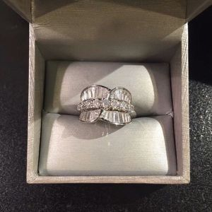 18K Gold plated Engagement Stylish Ring- BWO90 for Sale in San Jose, CA