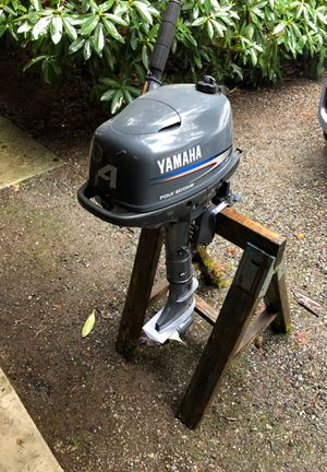 Yamaha 4 hp 4 stroke for Sale in Snohomish, WA