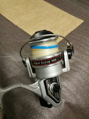 "Penn 105C Spinning Fishing Reel & Daiwa SEALINE SLT-200A 15-30 lb. 6'9"" 1Piece Fishing Rod Combo for Sale in Norwalk, CT"