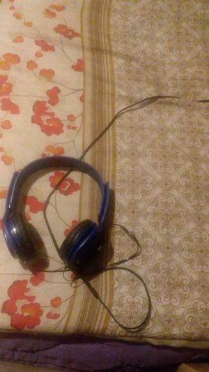 blue game headphones for Sale in Charlotte, NC