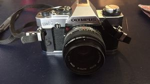 Vintage Olympus OMG 35mm SLR camera and 50mm lens (untested) for Sale in Hatfield, PA