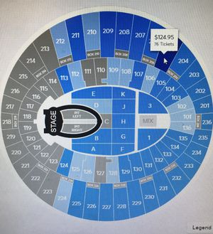 Ariana grande Tix for Sale in Lake Forest, CA