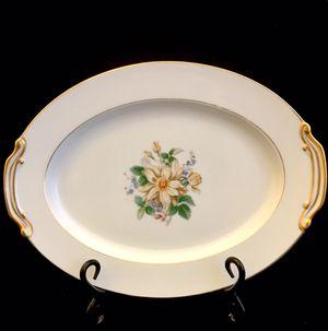 "Rare Vintage Noritake Goldenrose 11"" Serving Platter for Sale in Ransom Canyon, TX"