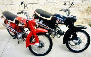 Honda S65 Sport Motorcycle Pair 1965 Vintage Classic Historical for Sale in Oceanside, CA