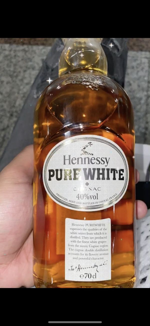 Hennessy pure white !