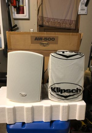 Klipsch AW-500 outdoor Speakers for Sale in Morgan Hill, CA