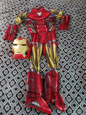 Boy's Halloween costume size S (Ironman) with light for Sale in Baldwin Park, CA