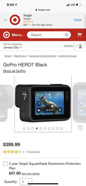 GoPro Hero 7 Black for Sale in Hoboken, NJ