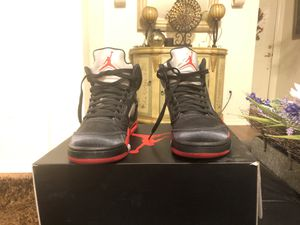 Jordan's 5 satin bred size 9 used for Sale in Lutz, FL