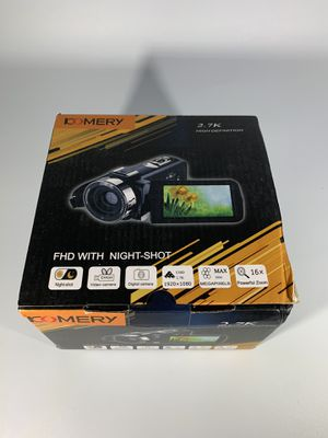 2.7K Video Camera for YouTube Vlogging Digital Camera Camcorder with Microphone for Sale in Philadelphia, PA