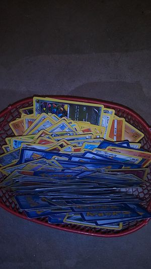 219 good shape Pokemon cards for Sale in Wichita, KS