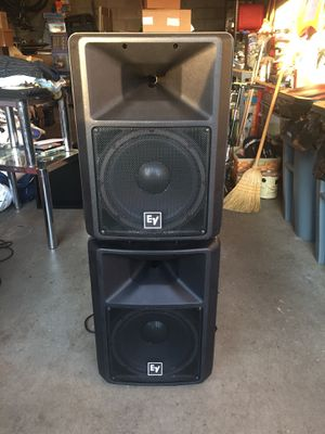 DJ/Band Equipment (Speakers are EV SX300s) and (Amp is QSC PLX2402) for Sale in Pittsburgh, PA