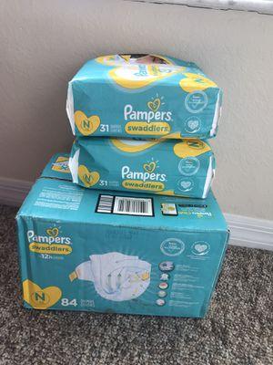 Newborn Pampers for Sale in Thonotosassa, FL
