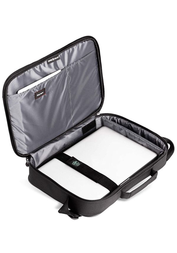 d0a3826c3043 SWISSGEAR Jasper Expandable Organizer 15-inch Laptop Case | TSA-Friendly  Carry-on | Travel, Work, School | Men's and Women's- Black Brand New! for  ...