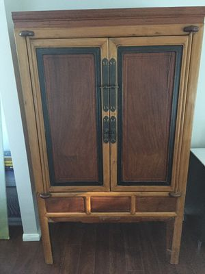 Cabinet with shelf and double drawers inside for Sale in San Diego, CA