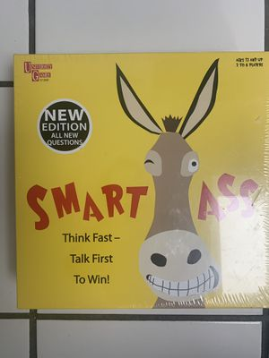 NEW- University Games Smart Ass The Ultimate Trivia Board Game for Families for Sale in Morton Grove, IL