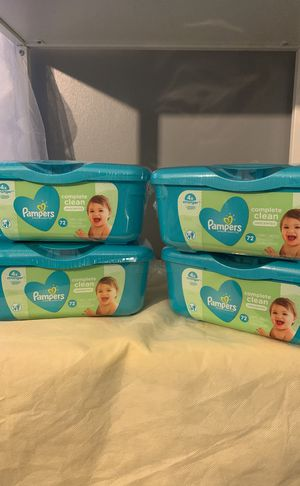 Pampers Wipe Bundle $5 for Sale in Columbus, OH