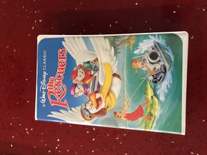 The Rescuers Walt Disney classic black diamond edition collectors item for Sale in Fort Lauderdale, FL