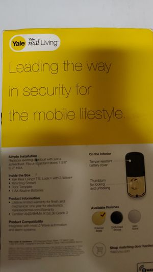 T1 Lock with Zwave for Sale in Ruston, LA