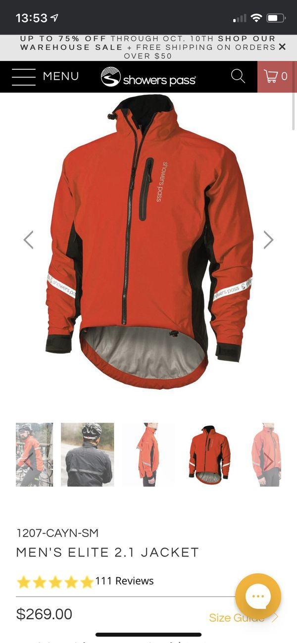 Showers Pass Cycling Waterproof Jacket