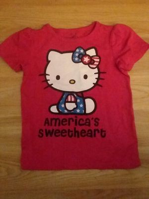 3T Hello Kitty 4th of July shirt for Sale in Virginia Beach, VA