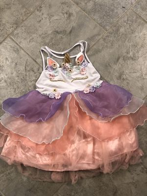 Small unicorn dress for Sale in Liberty Hill, TX