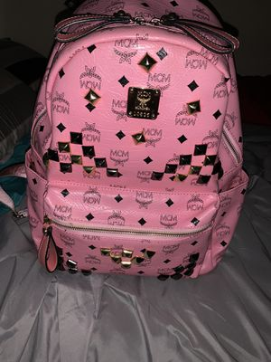 MCM BACKPACK PINK for Sale in Missouri City, TX
