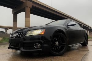 2012 AUDI S5 PREMIUM PLUS QUATTRO COUPE CLEAN TITLE for Sale in Dallas, TX