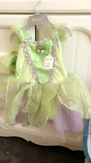 Tinkerbell costume 6-12 months for Sale in Las Vegas, NV