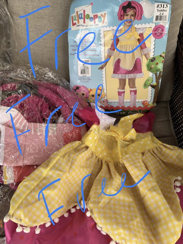 Lala Loopsy Costume Free!