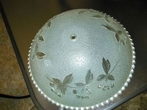 FREE--Glass Light fixture Cover! for Sale in Charlotte, NC