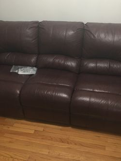 Leather Recliner Sofa for Sale in Boston,  MA