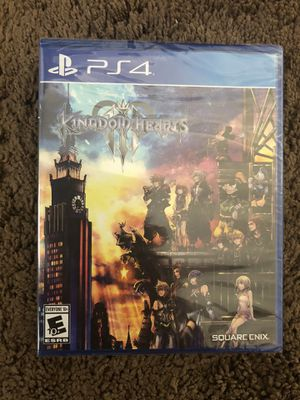 Kingdom Hearts 3 PS4 for Sale in American Canyon, CA